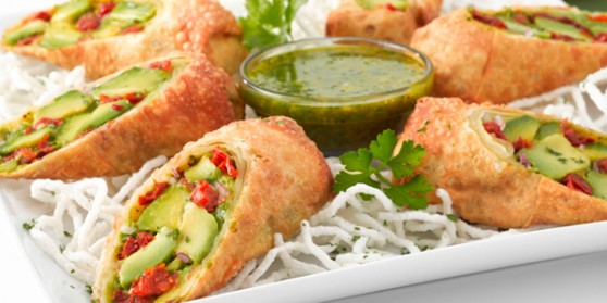 how to make avocado rolls from cheesecake factory