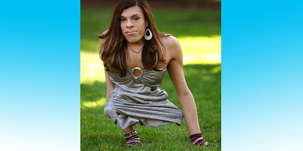 Meet the Transgender Young Woman with No Legs
