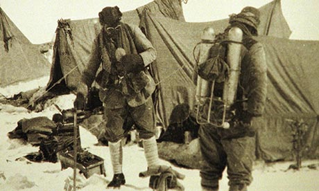 Raw Video of the Moment Mount Everest Climber's Body Was ... George Mallory And Andrew Irvine