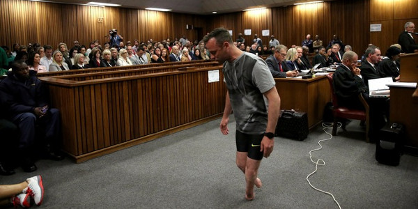Pistorius Returns Day Witness Box Breaking Describing Moment Killed Girlfriend together with Oscar Pistorius Grandmother Proud Two Years Shoots Reeva Steenk  Dead as well 140647222 furthermore Anastassia Khozissova also Oscar Pistorius Trial Ex Girlfriend Samantha 3218856. on oscar pistorius reeva steenkamp